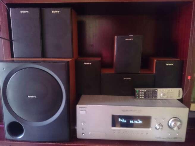 Imagen Systema Audio Sony 6.1 HDMI