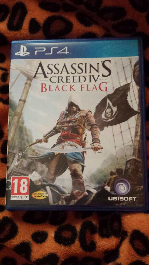 Imagen Assassin's Creed IV para PS4.