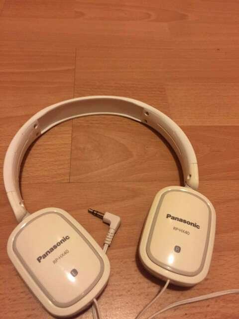 Imagen Auriculares Panasonic.