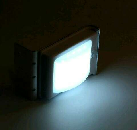 Imagen producto Solar lámpara 24 leds impermeable de pared 2 sensores 4