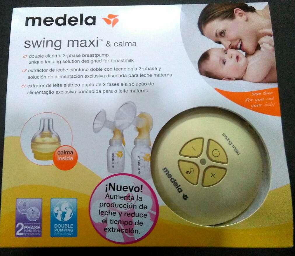 Imagen producto Swing Maxi Medela. Extractor eléctrico doble. 1