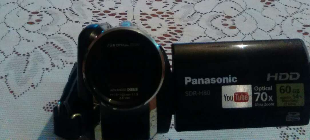 Imagen Cámara de video Panasonic SDR?H80