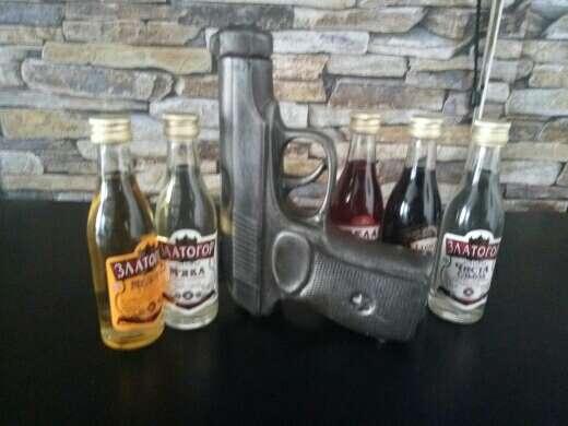 Imagen botella pistola