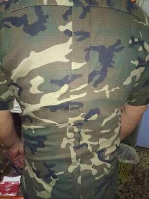 Imagen ropa militar