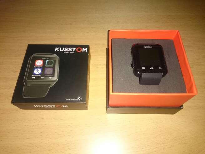 Imagen smartwatch reloj kusstom