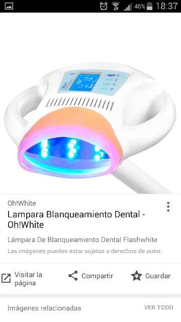 Imagen producto Lampara de blanqueamiento dental oh!white  2