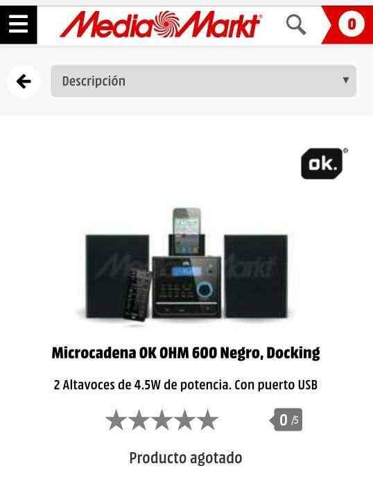 Imagen producto Microcadena OK (perfecto estado) 3
