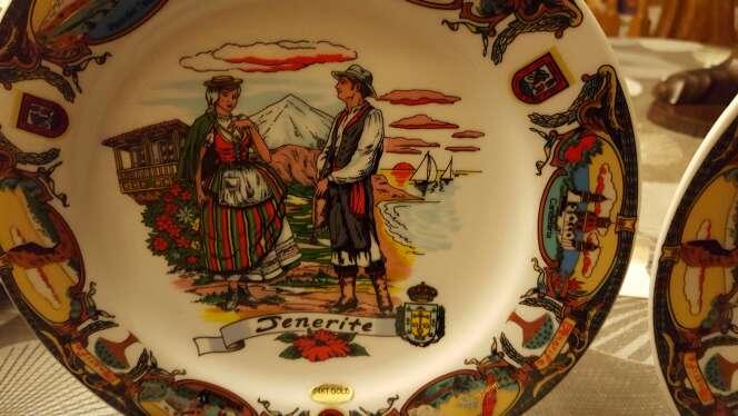 Imagen producto Platos de decoración de Tenerife  2