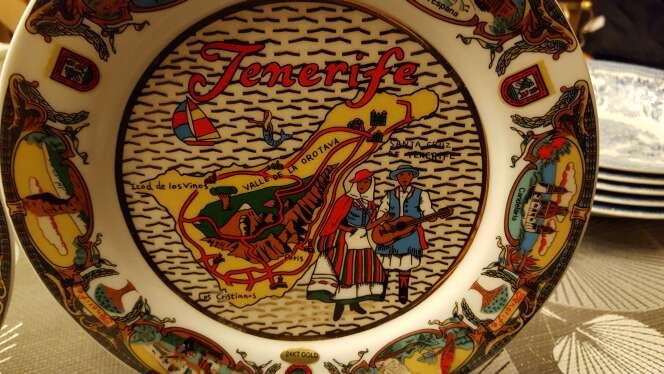 Imagen producto Platos de decoración de Tenerife  3