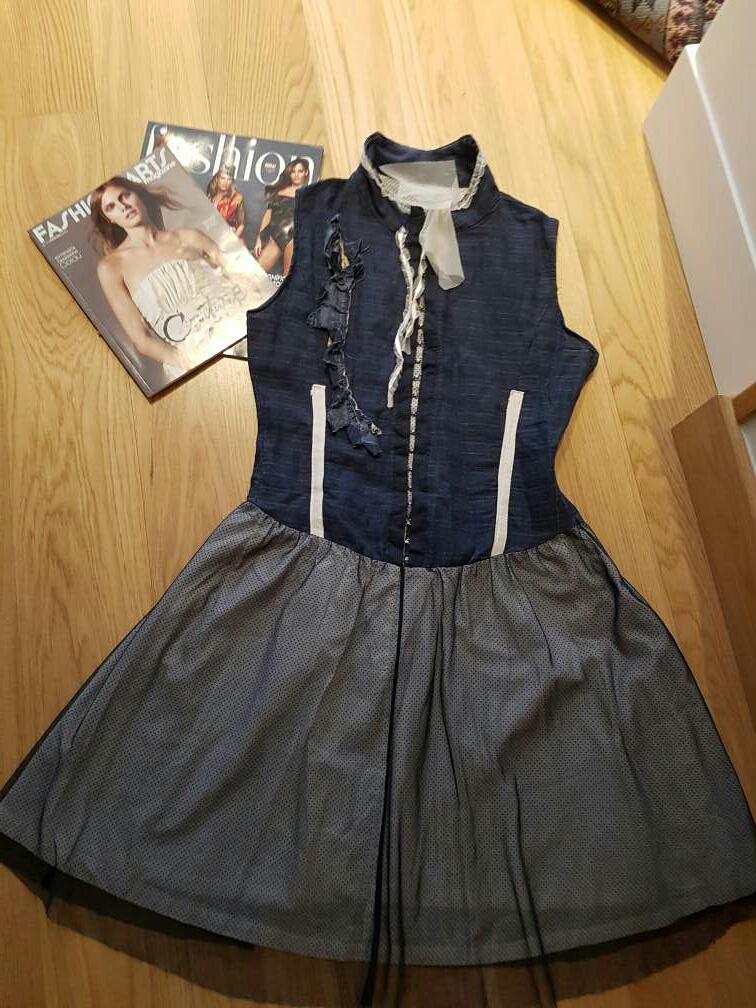 Imagen Vestido vaquero Talla M/40 *Made in Italy*