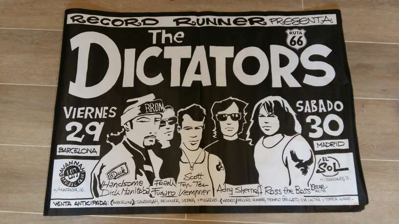Imagen producto Poster The Dictators  1