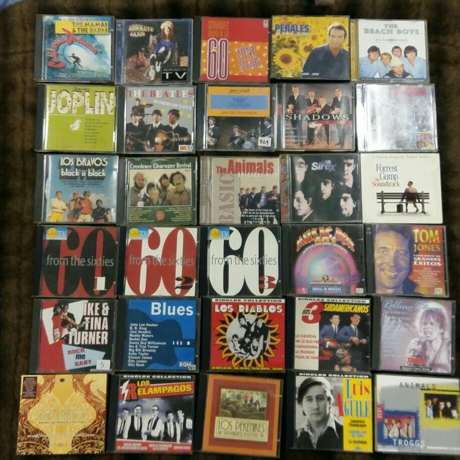 Imagen 34 CD's años 60