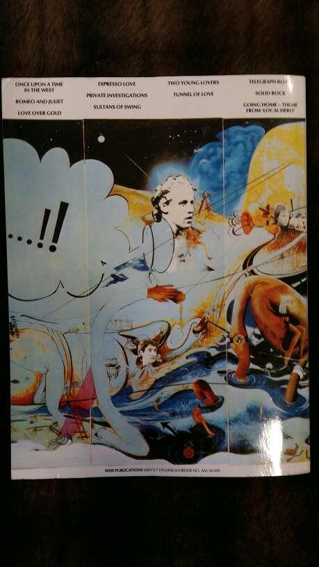 Imagen producto Libro partituras Dire Straits 2