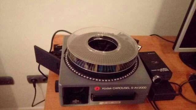 Imagen proyector kodak Carrusel s-av 2000