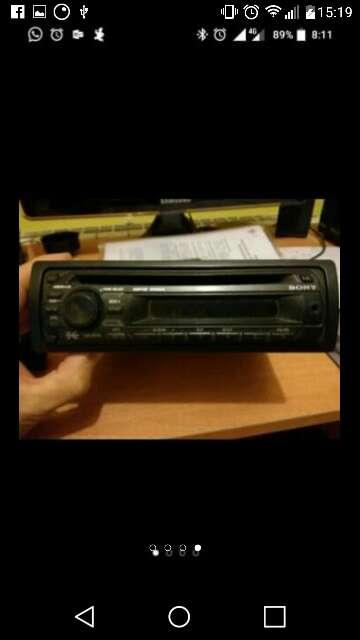 Imagen radio cd mp3