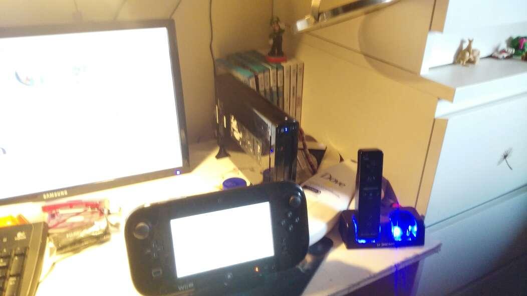 Imagen producto Wii u con 8 juegos 3