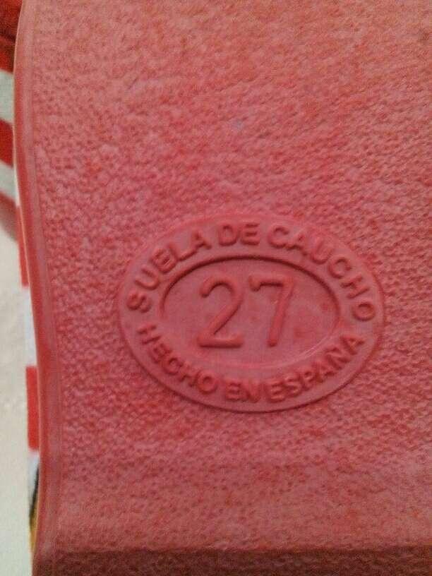 Imagen producto Zapatillas casa T:27 4