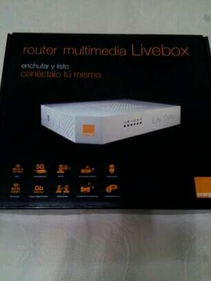 Imagen Router multimedia Liverbox
