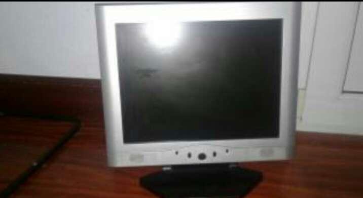Imagen pantalla ordenador plana