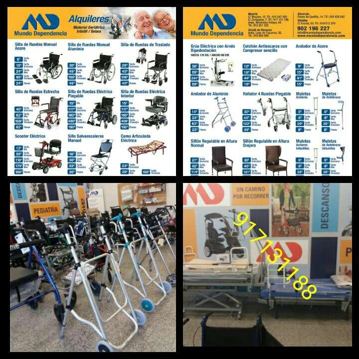 Imagen alquiler sillas de ruedas