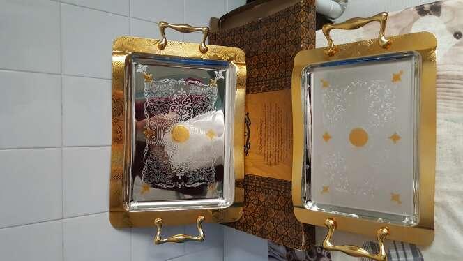 Imagen dos plato cloro de oro