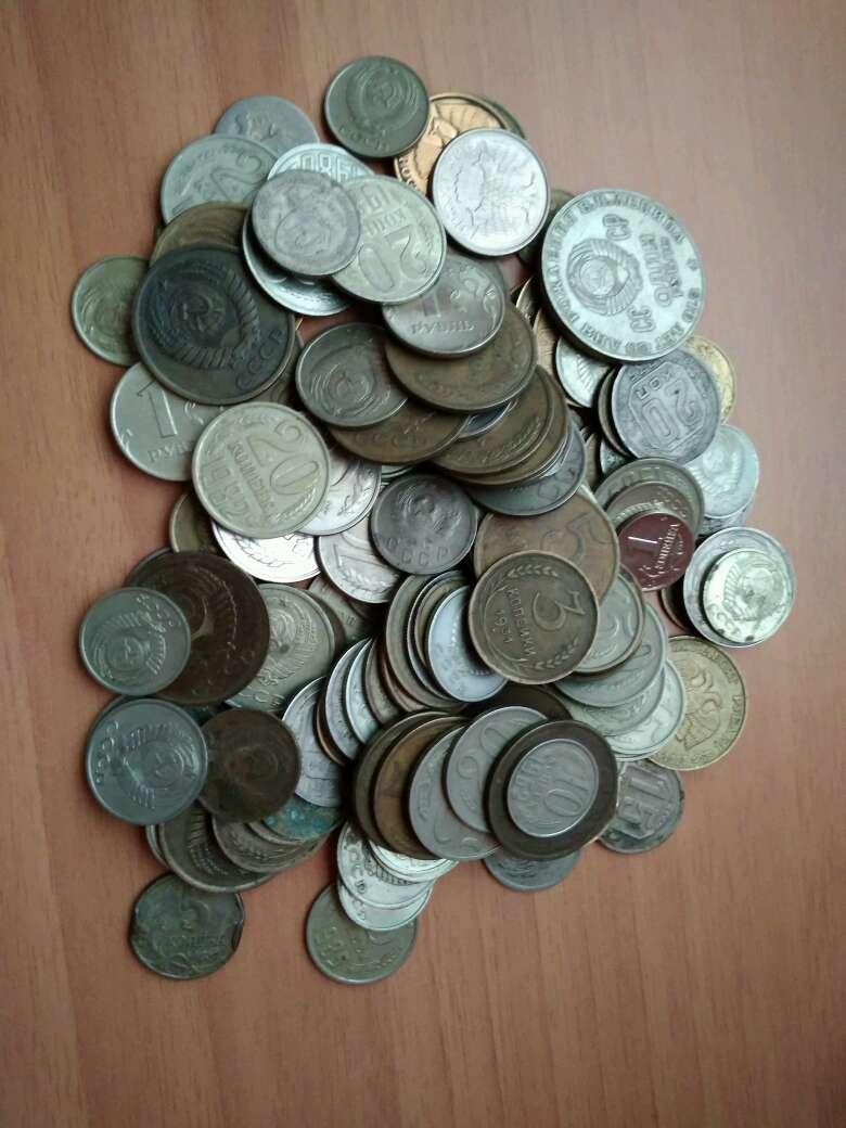 Imagen lote de 100 monedas rusas