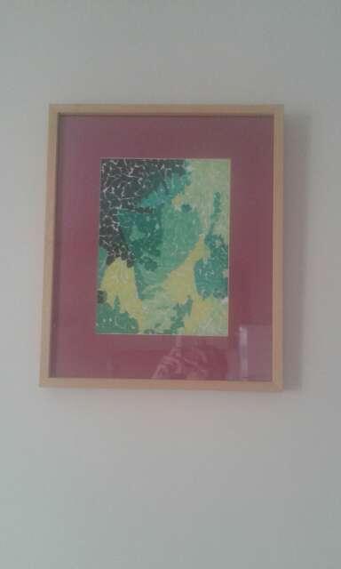 Imagen Pintura chica del pañuelo verde