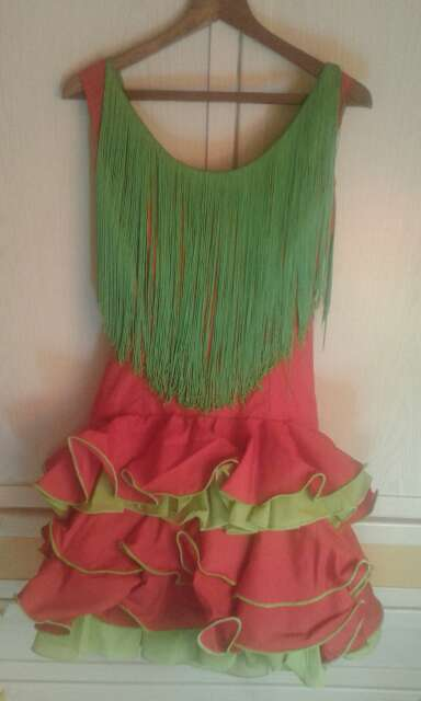 Imagen producto Vestido o traje gitana-sevillana-flamenca 2