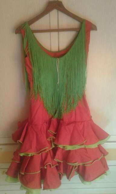 Imagen producto Vestido o traje gitana-sevillana-flamenca 3