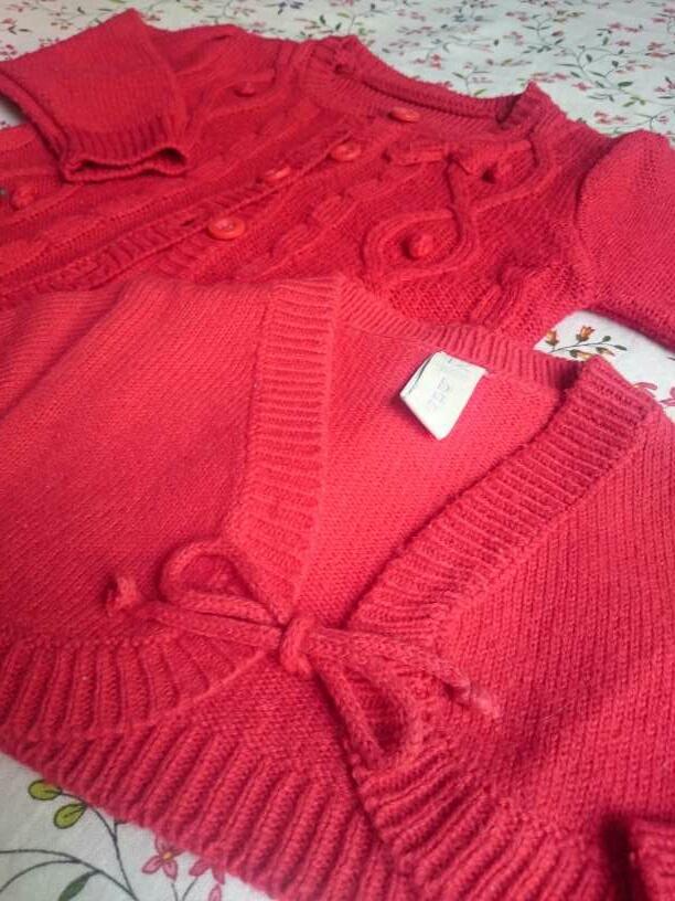 Imagen producto Chaqueta Bolero Rojos y Botas grises  2