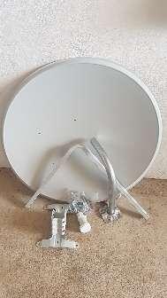 Imagen Antena parabolica 100 cm + lnb