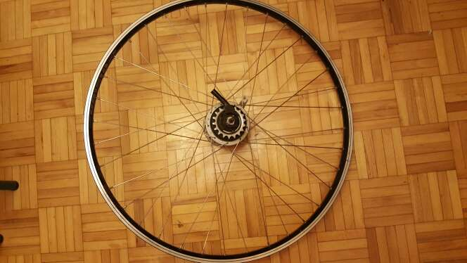 Imagen rueda de bicicleta