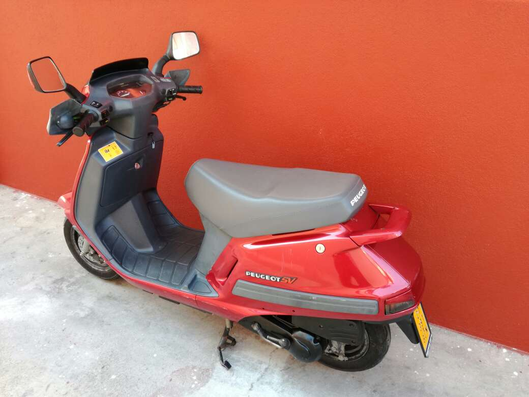 Imagen ciclomotor Peugeot SV