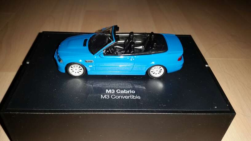 Imagen producto BMW M3 E46 Cabrio (Escala 1:43) 1