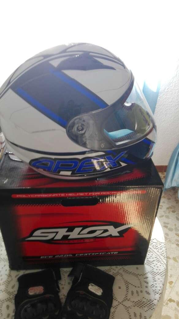 Imagen casco moto talla S