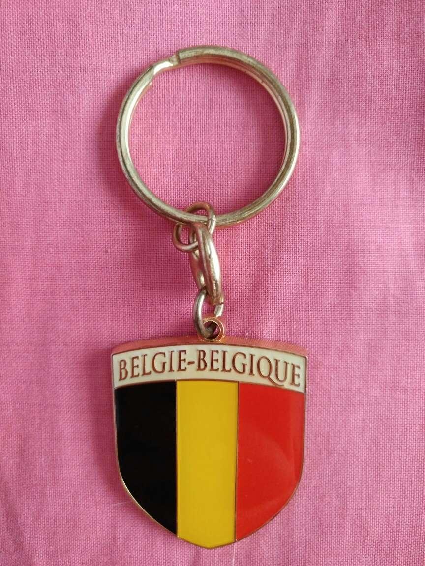 Imagen Llavero bandera de Bélgica