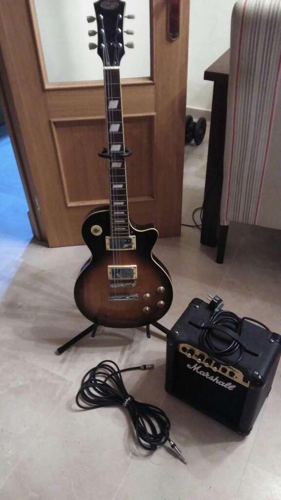Imagen Guitarra eléctrica Stagg tipo lesPaul