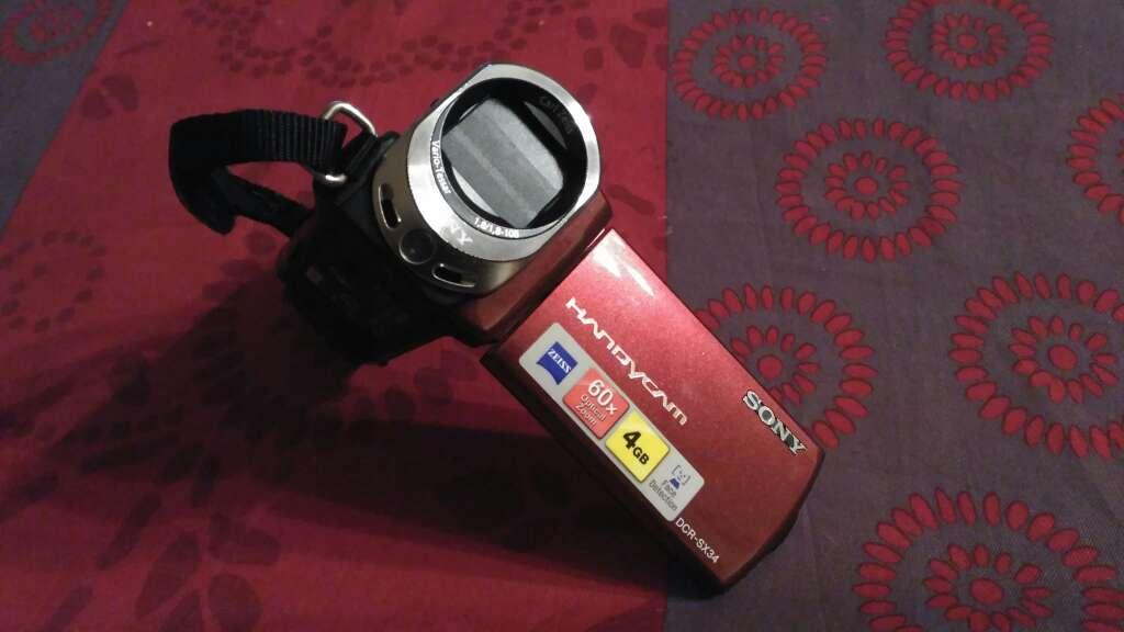 Imagen sony handycam dcr-sx34 60x zeiss 4GB