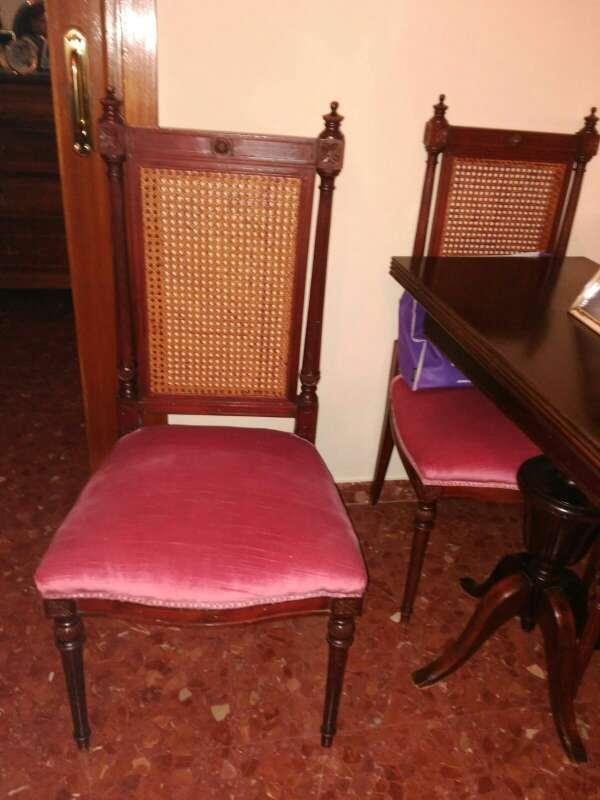 Imagen producto Mesa salón desplegable + 4 sillas  2
