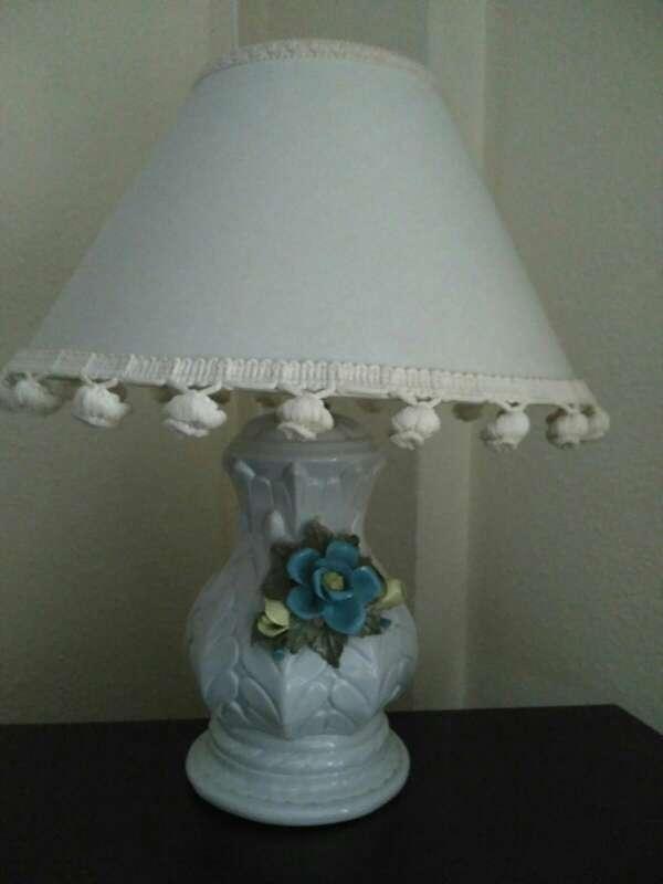 Imagen producto Lampara y cuadro con lámina 1