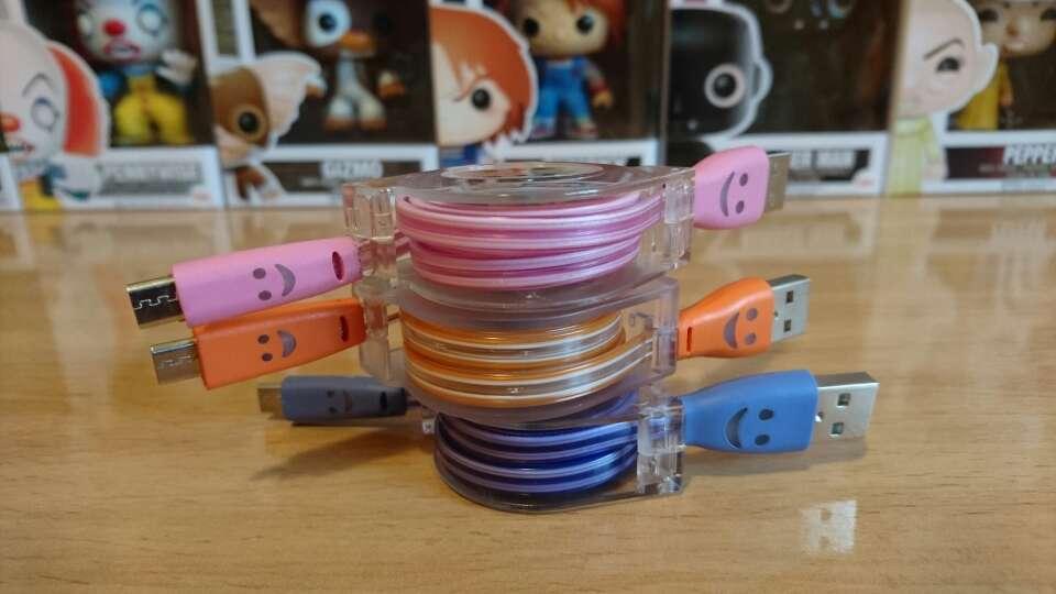 Imagen Cables Usb con luz led