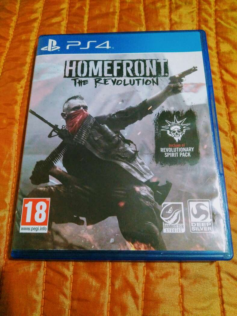 Imagen juego ps4 - homefront: the revolution