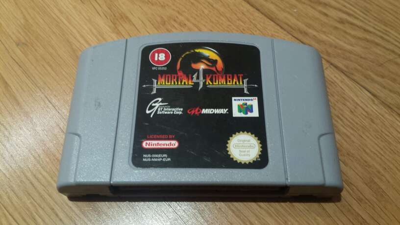 Imagen Mortal Kombat 4 para Nintendo 64
