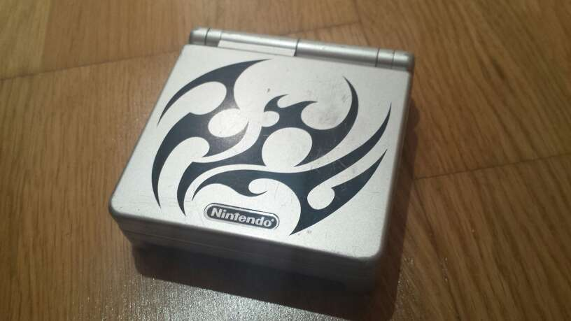 Imagen Game Boy Advance SP Edición Tribal