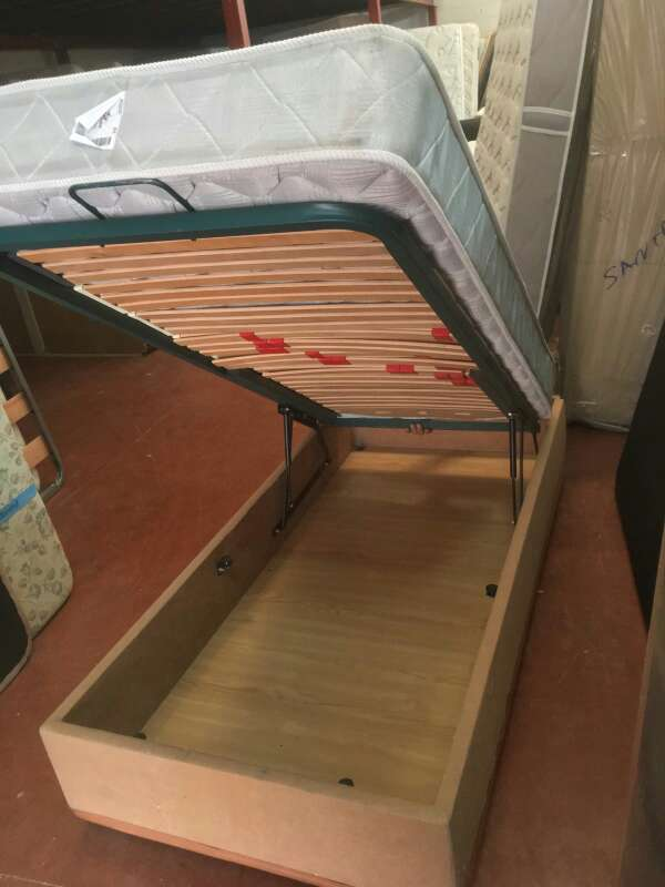 Imagen producto Cama de 90x190 canapé abatible+colchon 3