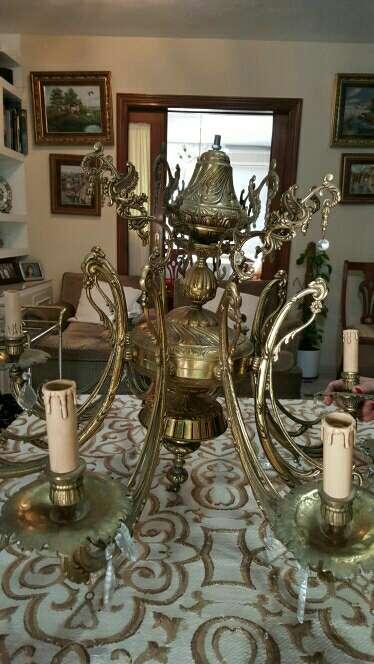Imagen producto Lámpara de bronce 3