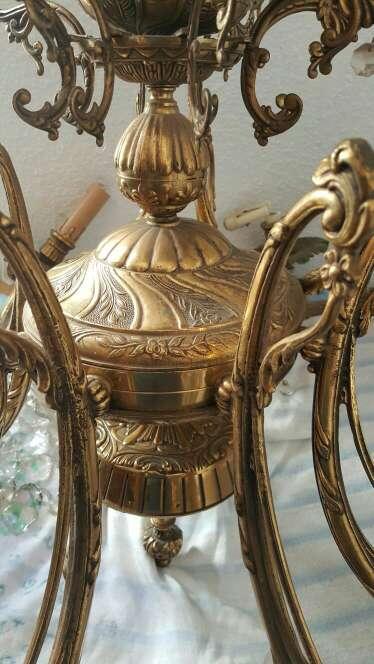 Imagen producto Lámpara de bronce 2