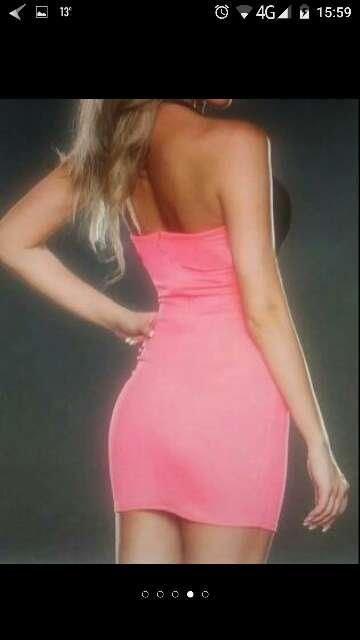 Imagen producto Vestido. lycra y gasa talla s 2