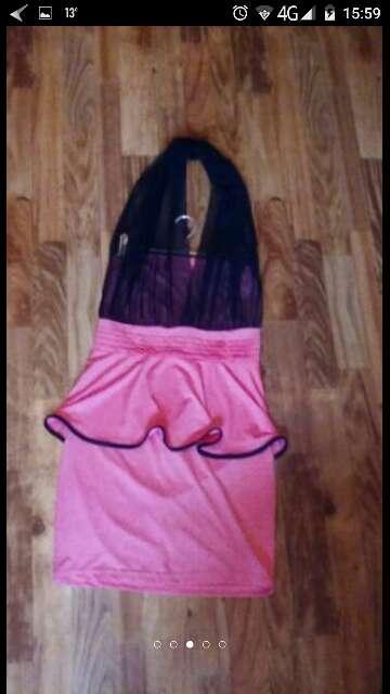Imagen producto Vestido. lycra y gasa talla s 4