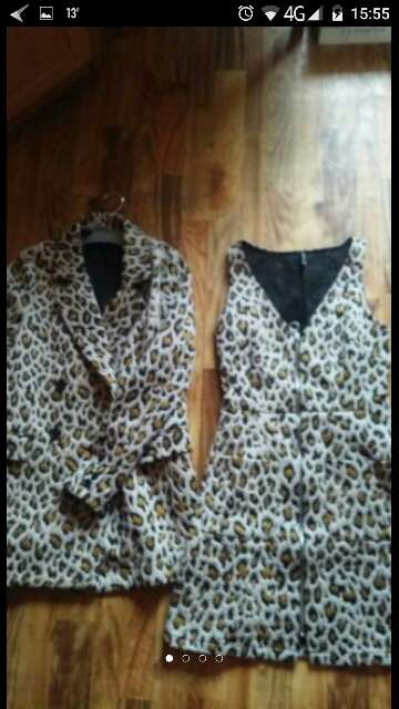 Imagen conjunto vestido y chaqueton talla m